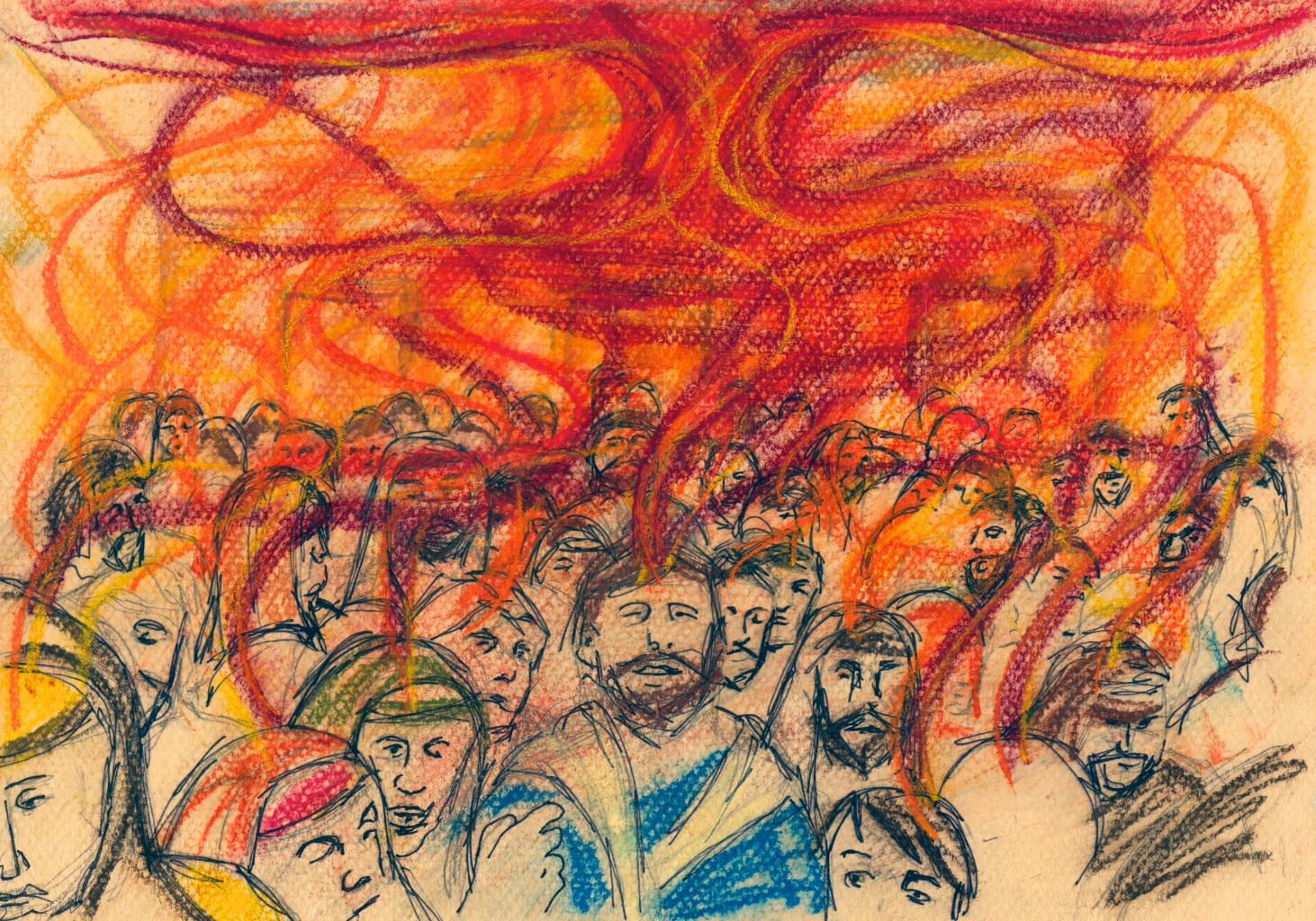 The Feasts That Jesus Kept Shavuot Fire On Mountain Voices Of Faith